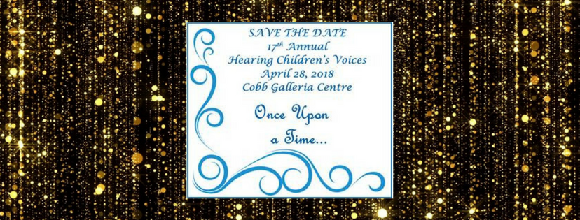 Save the Date! Hearing Children's Voices 2018!